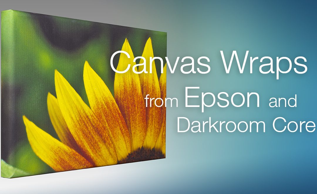 Make Canvas Wraps with Darkroom Core and Epson Printers