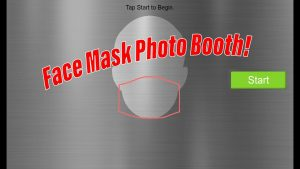 Link to Face Mask Photo Booth Tutorial