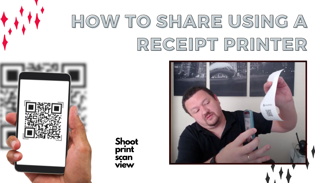 How to Share Using a Receipt Printer with Darkroom Core