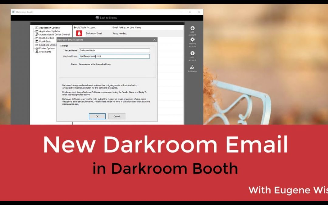 Email delivery without the hassle – new email server for Darkroom Booth Software